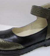 Туфли женские индивидуальные ортопедические из натуральной кожи М-524