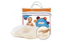 Подушка ортопедическая с эффектом памяти для детей от рождения до года LumF-505