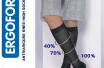 Гольфы мужские компрессионные с открытой носочной частью II класса