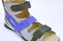 Сандалики подростковые ортопедические из натуральной кожи М711