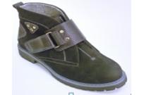Ботинки подростковые из натуральной кожи М771