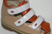 Ортопедическая обувь детская, сандалии ORTEK 73173 размеры: 18-21