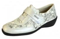 Женские комфортные туфли PodoWell Sylvanie жемчужные