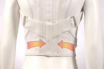 Корректор осанки подростковый (2 ребра жесткости) К-500