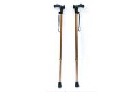 Трость алюминиевая телескопическая с анатомической ручкой ТР-1 (правая/левая) (мужская/женская)