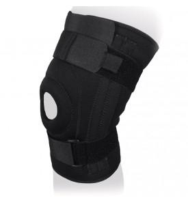Бандаж на коленный сустав со спирал. ребрами жесткости KS-052