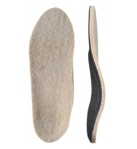 Детские ортопедические стельки с покрытием из натуральной шерсти «ЗИМА детские»