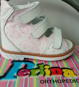 Лечебно-профилактическая обувь детская, сандалии Perlina 3255-3