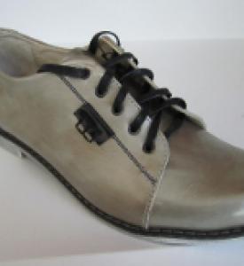 Туфли индивидуальные ортопедические из натуральной кожи М-662
