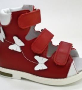 Детские ортопедические сандалики из натуральной кожи М513 Д
