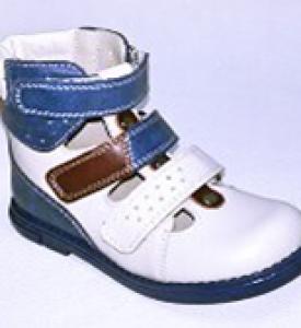 Детские ортопедические сандалики из натуральной кожи М525 М