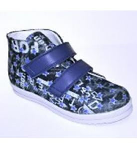 Ботинки подростковые текстильные М690