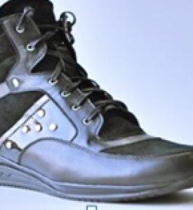 Ботинки женские из натуральной кожи М852