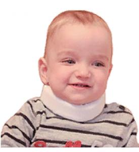 Корсет ортопедический детский для шейного отдела  ШВ-511 №1, №2