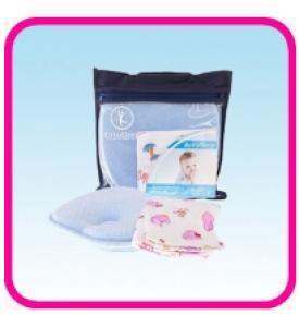 """Ортопедическая подушка BabySleep для грудничков + фланелевая наволочка """"OrtoSleep"""""""