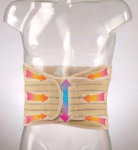 Корсет поясничный эластичный с пластинами F-5210