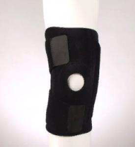 Фиксатор колена с пластинами разъемный (one size) черный F-1281