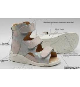 Индивидуальная сложная ортопедическая обувь на заказ