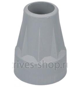 Наконечник для тростей, костылей, опор-ходунков диам.19, 22 мм
