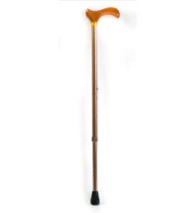 Трость телескопическая с деревянной ручкой ТР-1